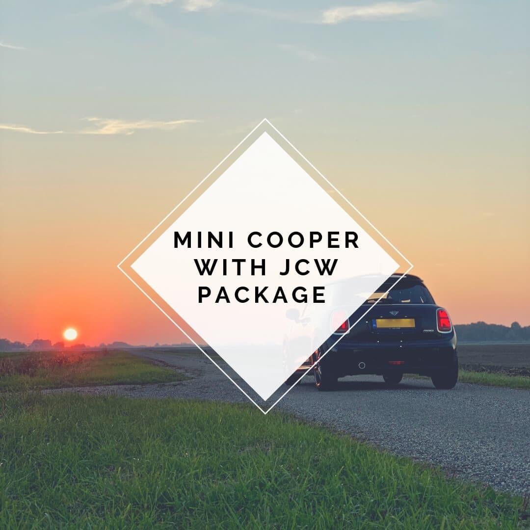 MINI Cooper with JCW Package hoofd afbeelding