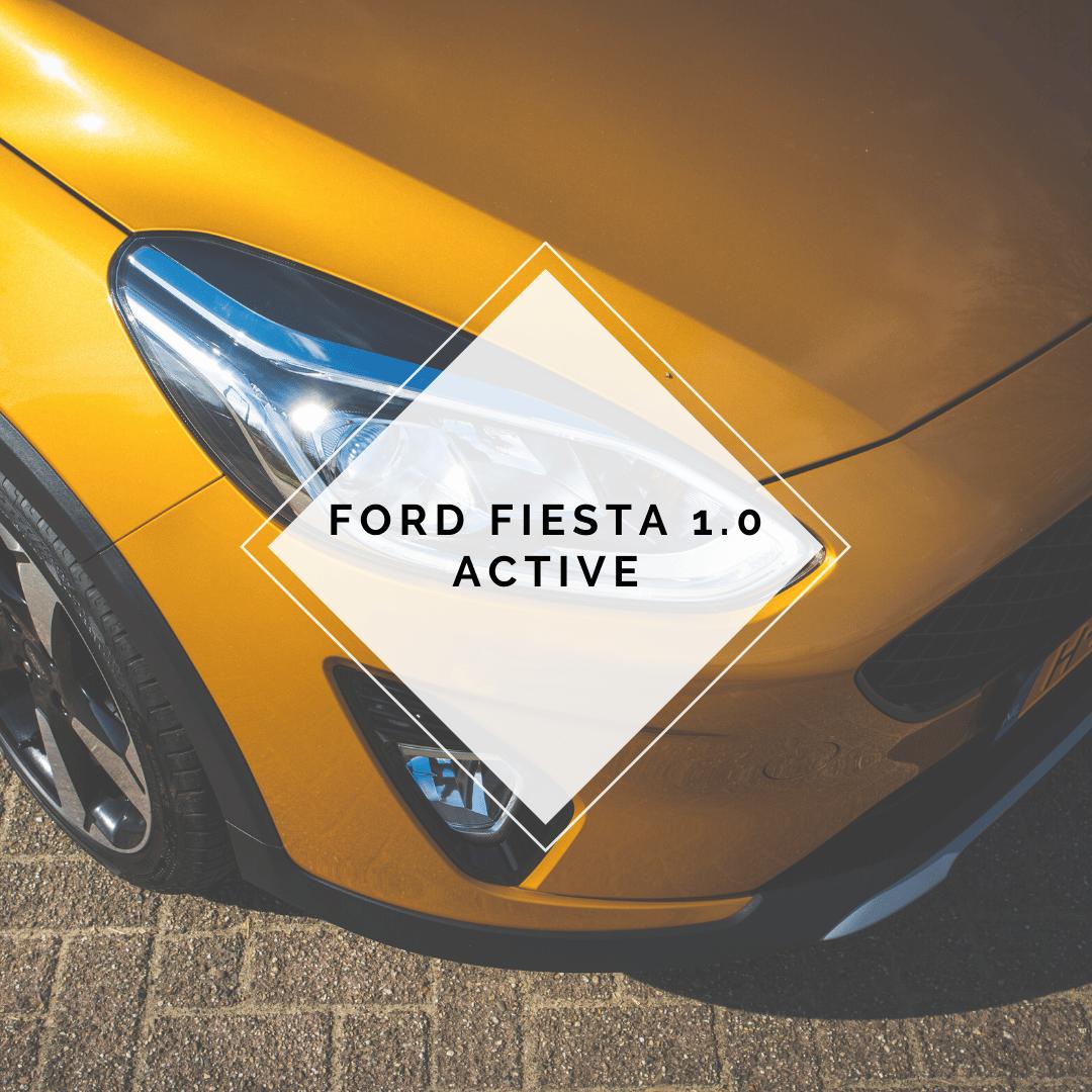 Ford Fiesta 1.0 Active hoofdfoto